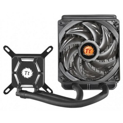 Thermaltake Water 3.0 x120 AIO LED White CPU Air Cooler - Intel Core-i9 2066 1151 AMD AM4