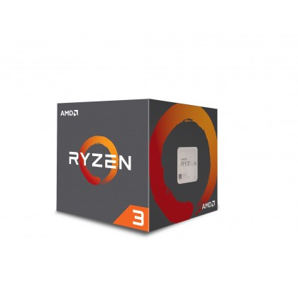 AMD RYZEN 3 1200 4-Core 3.1 GHz (3.4 GHz Turbo Boost) Socket AM4 Desktop Processor with Wraith Stealth Cooler