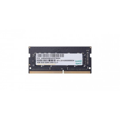 Apacer 4GB DDR4 2400 SODIMM 2400MHz Notebook Ram