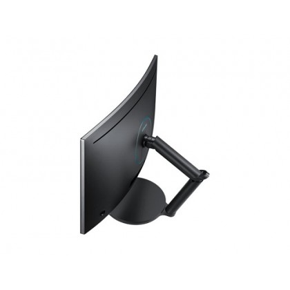 SAMSUNG 27 inch Curved Gaming Monitor CFG70 with 1ms 144Hz Quantum Dot Display LC27FG70FQEXXM