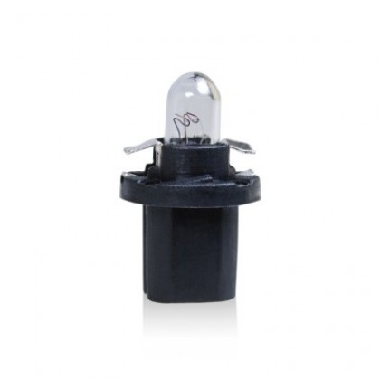 Trifa Plastic Base Lamps 02724 Black 1,2W 12V BAX 10d/B8,5d 02724 Bulb - 10pieces