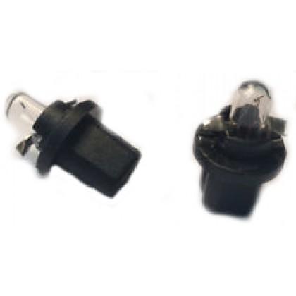 Trifa Plastic Base Lamps 02724 Black 1,2W 12V BAX 10d/B8,5d 02724 Bulb - 10pieces