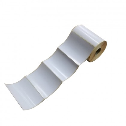 10 Rolls 102mm x 76mm Blank Barcode Label Sticker ( 500pcs per roll )