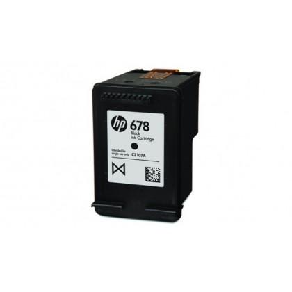 HP 678 Black Color Original Ink Advantage Cartridges