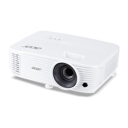 ACER P1250 HDMI XGA 1024 x 768 DLP Projector White foc HDMI Cable