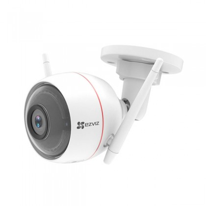 EZVIZ Husky Air HD 720p Outdoor Smart Wi-Fi Internet Bullet Camera Integrated Siren