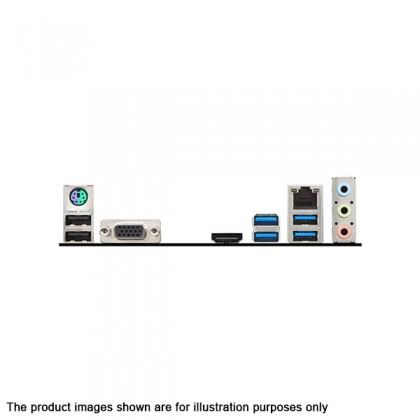 MSI B360M PRO-VH Intel 8th Gen LGA 1151 B360 NVMe M.2 DDR4 HDMI VGA USB 3.1 Gen 1 Micro ATX Motherboard with EZ Debug LED