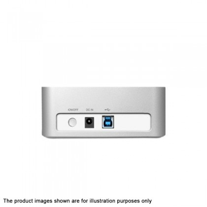 NEO DKS30CE-SLV USB 3.0 2-Bay Hard Drive/SSD Docking Station with Cloning and Erase Function