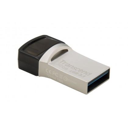 Transcend Jetflash 890S 32GB USB 3.1 + Type-C Flash Drive