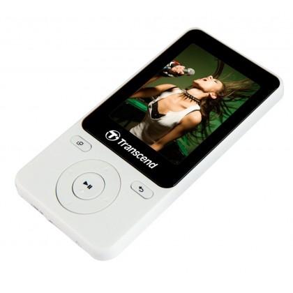 Transcend Digital Music Player MP710 8GB MP4 Player - White