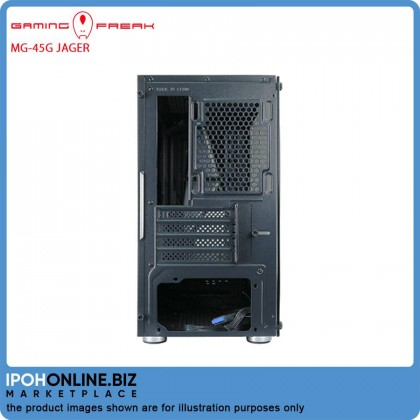Gaming Freak MG-45G Jager Premium Middle Tower Case USB 3.0 M-ATX With Tempered Class Edition