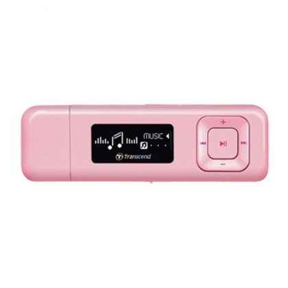 Transcend Digital Music Player 8GB MP330 MP3 Player - Pink