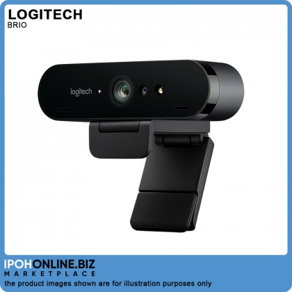 Logitech BRIO ULTRA HD PRO BUSINESS WEBCAM Premium 4K webcam with HDR and Windows Hello support