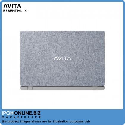 "Avita Essential 14 Laptop (Intel Celeron N4000 2.60GHz 128GB SSD 4GB 14"" FHD W10 Home) - FOC Mouse + Backpack"