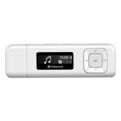 Transcend Digital Music Player 8GB MP330 MP3 Player - White