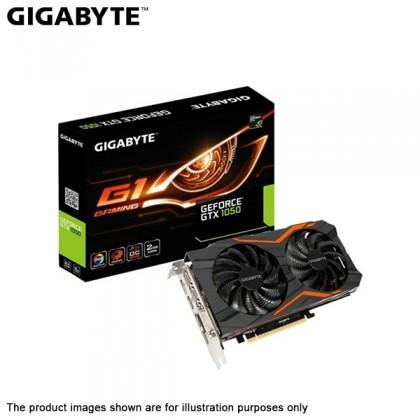 Gigabyte GEFORCE GTX 1050 2GB GDDR5 G1 GAMING PCIe Graphic Card