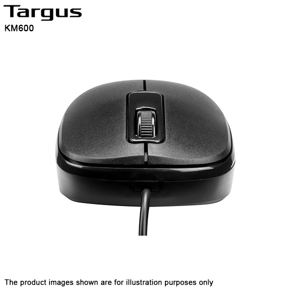 Targus KM600 USB Wired Keyboard & Mouse Combo